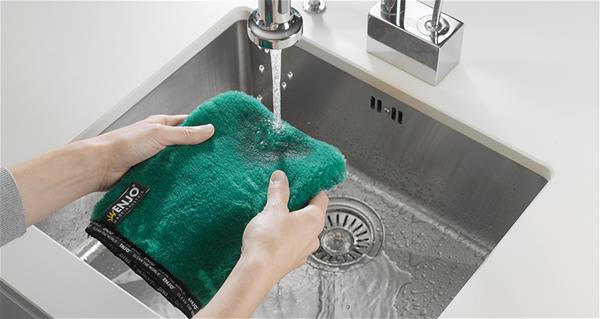 Use less water when cleaning